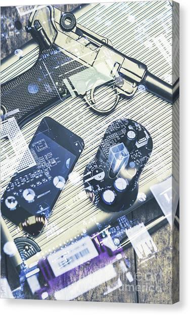 Mice Canvas Print - Modern Agency Warfare by Jorgo Photography - Wall Art Gallery