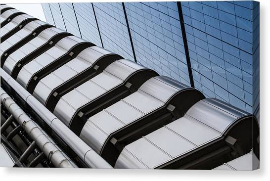 Lloyds Building Bank In London Canvas Print