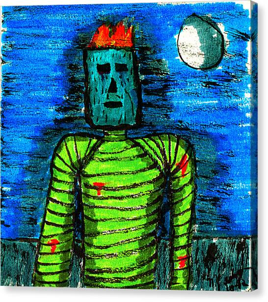 Modern Prometheus Canvas Print