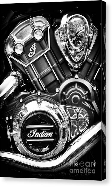 Scouting Canvas Print - Modern Scout Engine by Tim Gainey