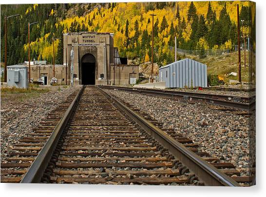 Moffat Tunnel Canvas Print