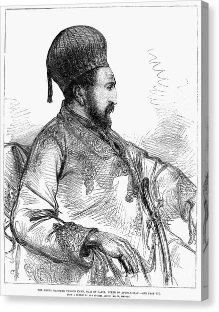Emir Canvas Print - Mohammed Yakub Khan by Granger