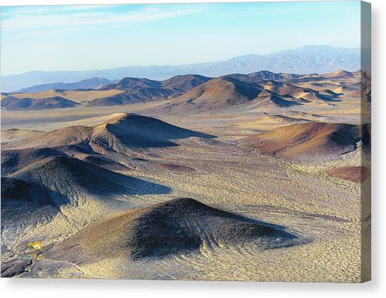 Canvas Print featuring the photograph Mojave Desert by Jim Thompson