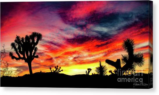 Mojave Sunset Canvas Print