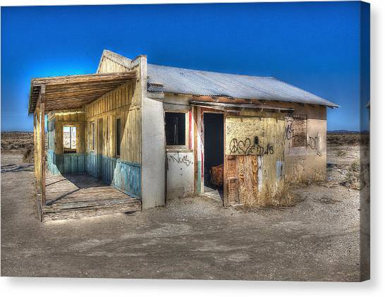 Mojave Times Canvas Print