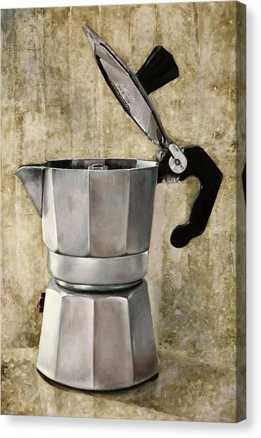 Tool Canvas Print - Moka by Guido Borelli