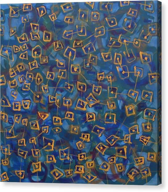 Canvas Print - Molecules Of Emotion by Maggie Hernandez