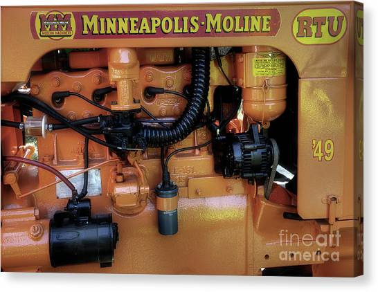 Moline Engine Canvas Print