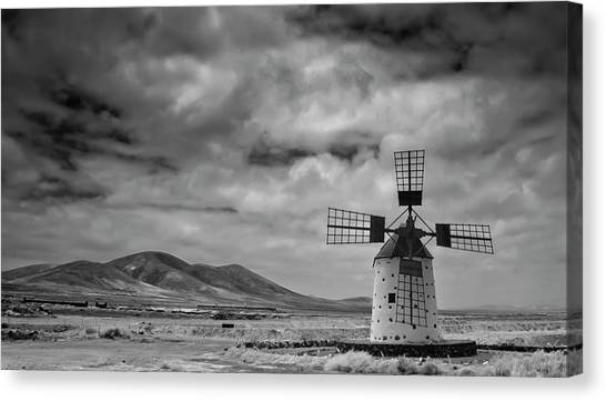 Atlantic Islands Canvas Print - Molino De Cotillo by Martin Zalba is a photographer looking for a personal look,
