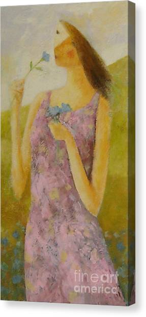 Molly Bloom Canvas Print