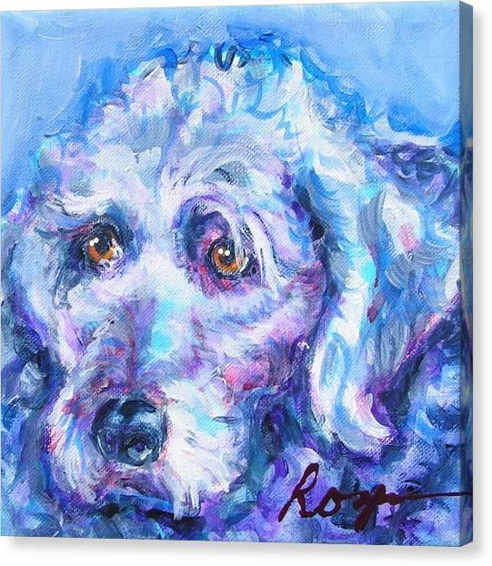 Molly Blue Canvas Print