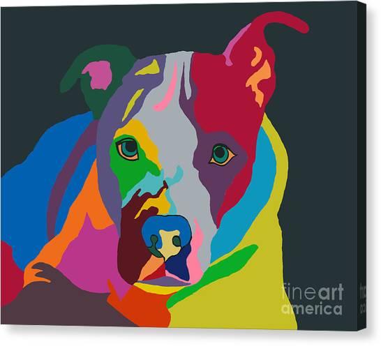 Molly Psychedelic Canvas Print