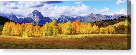 Wyoming Canvas Print - Moment by Chad Dutson