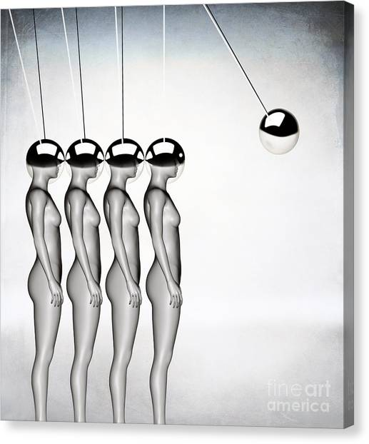 Futurism Canvas Print - Momentum by Jacky Gerritsen