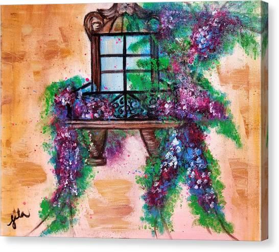 Mon Amour  Canvas Print