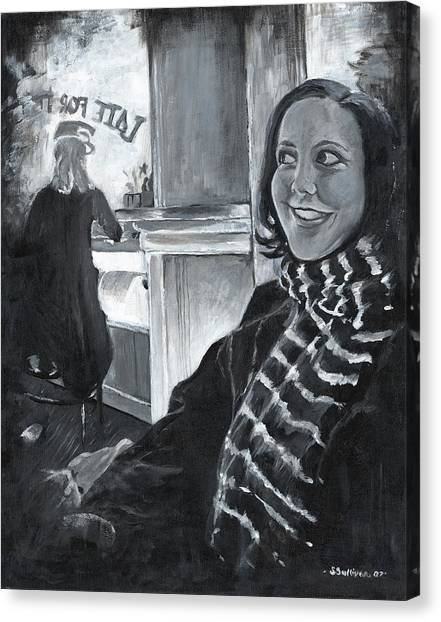 Mona Sandra  Canvas Print