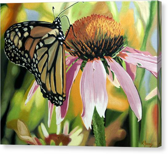 Monarch Canvas Print by Kenneth Young