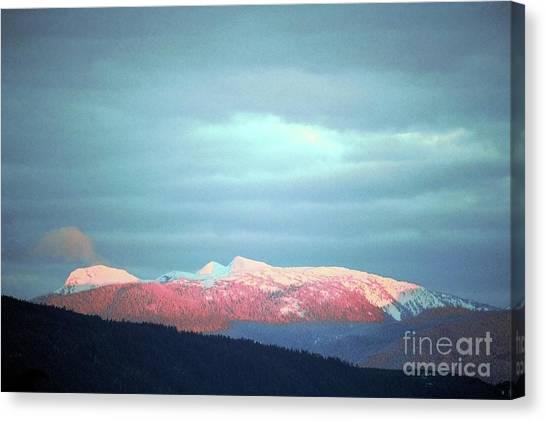 Monashee Sunset Canvas Print