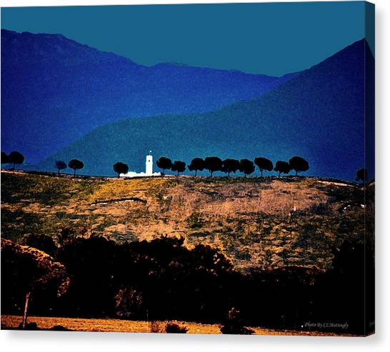 Monastery In Italy Canvas Print