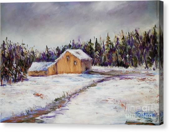 Mondauk Road Canvas Print by Joyce A Guariglia