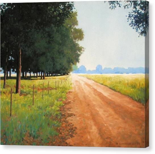 Monday Morning Canvas Print by Kevin Lawrence Leveque