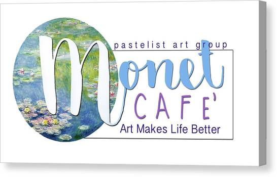 Monet Cafe' Products Canvas Print