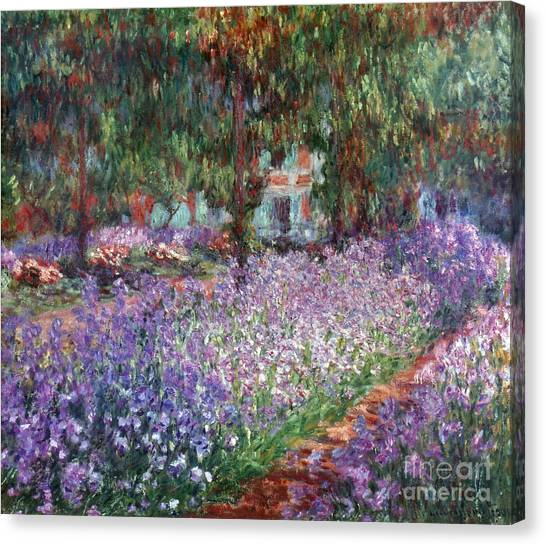 Aod Canvas Print - Monet: Giverny, 1900 by Granger