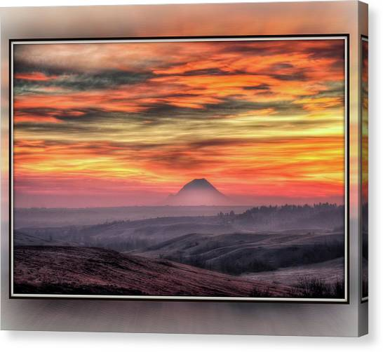 Monet Morning Canvas Print