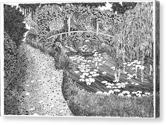 Monet's Paradise Canvas Print by Thomas  Ferguson