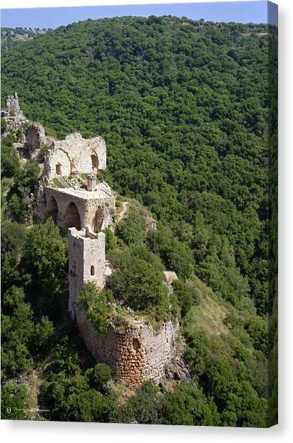 Monfort Fortress. Canvas Print