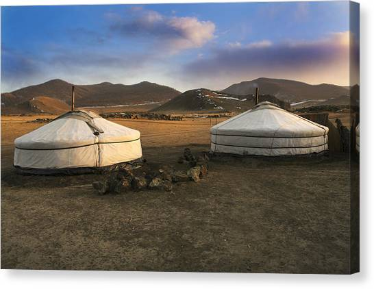 Mongolian Serenity Canvas Print