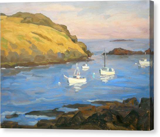 Monhegan Morning Canvas Print