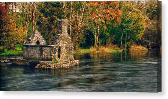 Canvas Print featuring the photograph Monk's Fishhouse 2 by Trever Miller