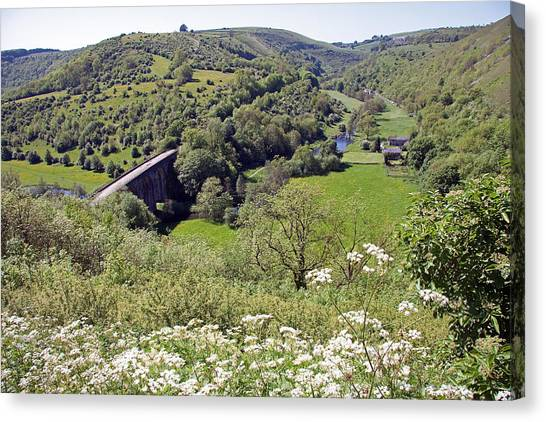 Monsal Head Canvas Print