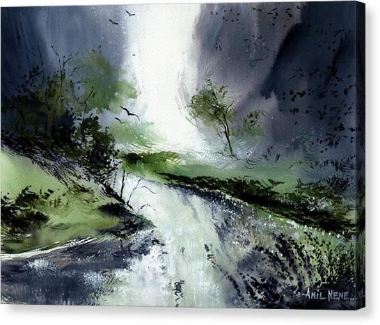 Monsoon 2018 -3 Canvas Print