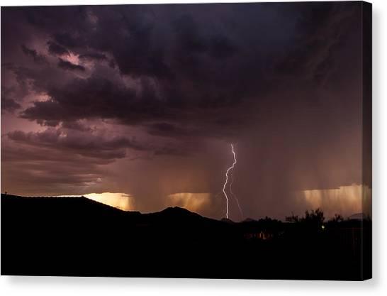 Monsoon Storm Canvas Print