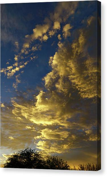 Canvas Print featuring the photograph Monsoon Warmth by Elaine Malott