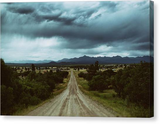Monsoons From The Meadows Canvas Print