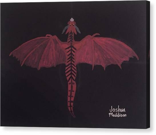 Monsterart Dragonsaurus Canvas Print