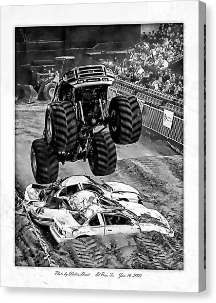Monster Truck 2b Canvas Print