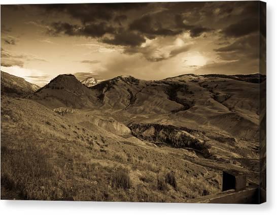 Montana Landscape Canvas Print by Patrick  Flynn