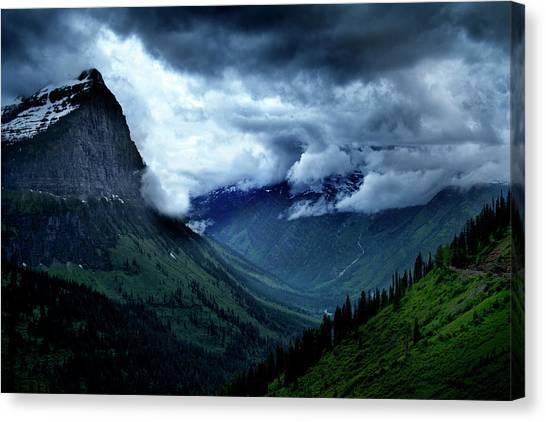 Montana Mountain Vista Canvas Print