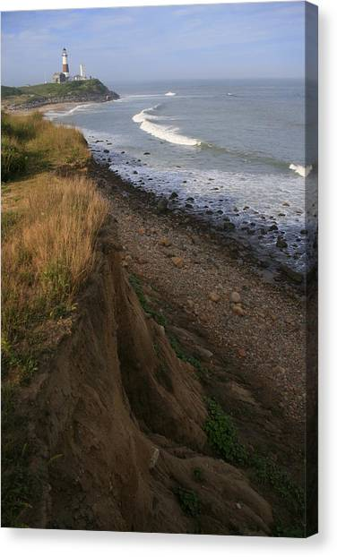 Montauk Surf And Turf Canvas Print