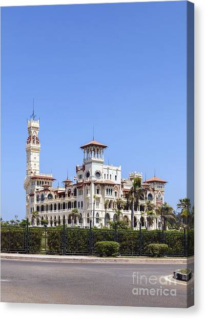 Montaza Palace In Alexandria, Egypt. Canvas Print
