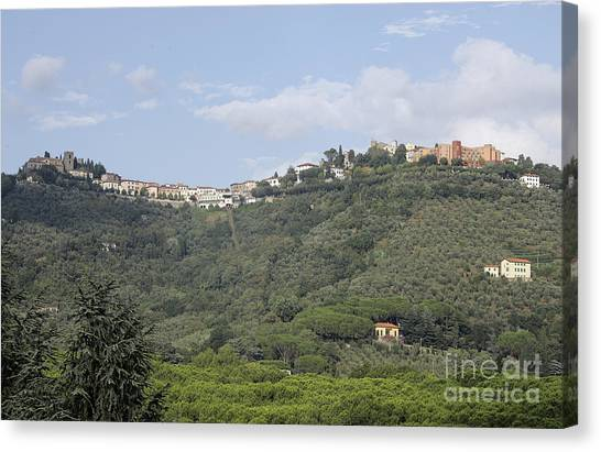 Montecatini Alto Canvas Print