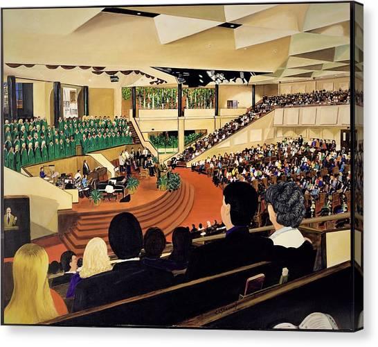 Montelle's View Canvas Print