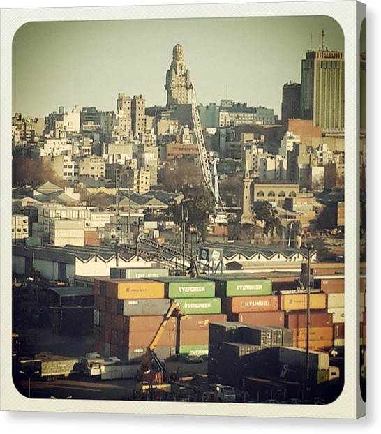 Portal Canvas Print - #montevideo #city #uruguay by Fernando Portal