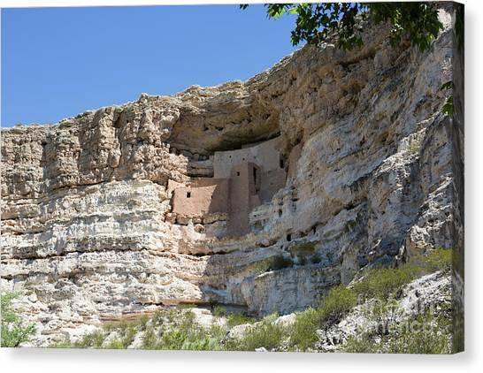 Montezuma Castle National Monument Arizona Canvas Print
