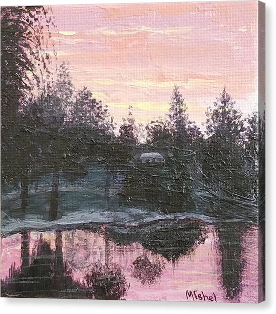 Montgomery Pond Canvas Print