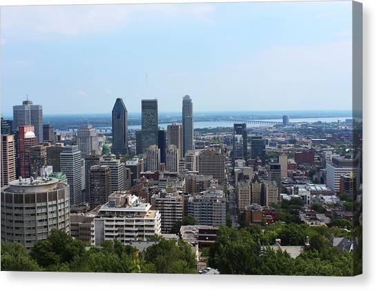 Montreal Cityscape Canvas Print